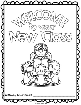 """End of the Year Activity: """"Welcome to Your New Class"""" For Students Next Year!"""