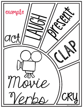 End of the Year Activity for Movie Day