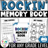 End of the Year Activity   Memory Book: Rock n' Roll Theme {Grades 3-6}