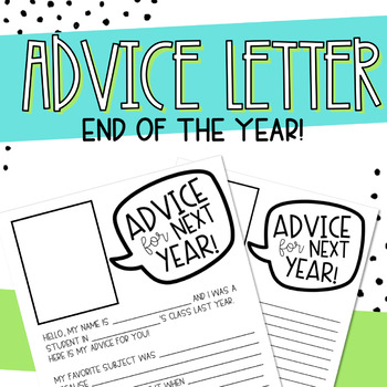 End of the Year Advice for Future Students Letter