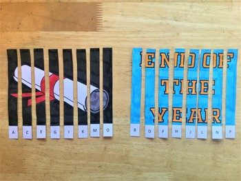 End of the Year Agamograph Art Activity