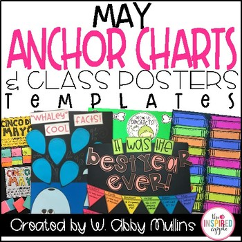 End of the Year Anchor Charts and Class Posters for May