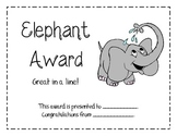 End of the Year Animal Awards