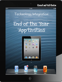 End of the Year 'Apptivities' - iPad Lessons for 1st Graders