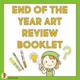 End of the Year Art Review Booklet