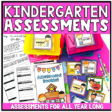 Kindergarten Assessments Back to School Assessments