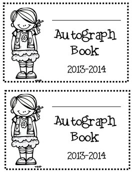 End Of The Year Autograph Book 2 Dates 2014 2015 2016