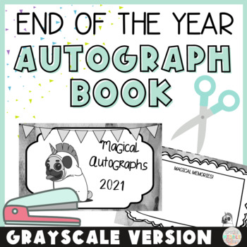 End of the Year Autograph Book