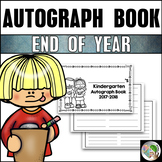 End of Year Activities Autograph Book K-6