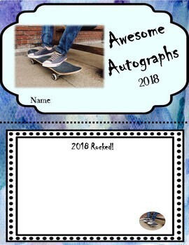 End of the Year Autograph Book for Older Kids