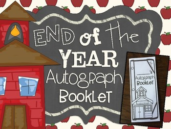 End of the Year Autograph Booklet
