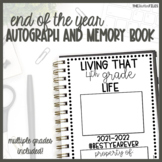 End of the Year Autograph Memory Book Non-Grade Specific