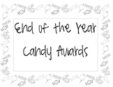 End of the Year Award (Candy Theme)
