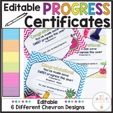 End of Year Award Certificate for Any Subject - Editable