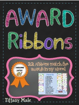 End of the Year Award Ribbons