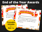 End of the Year Award Spanish   PDF