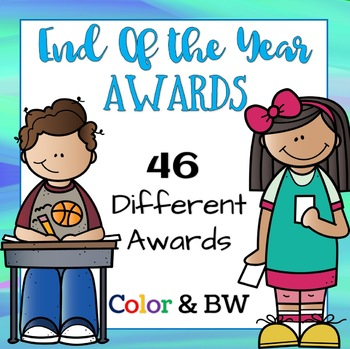 End of the Year Awards! Color and Black and White!