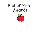 End of the Year Awards!