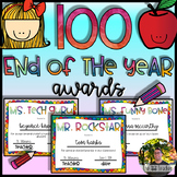 ⭐100 End of the Year Awards (Distance Learning Instruction