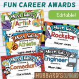 EDITABLE Class Superlative End of Year Awards - Career End
