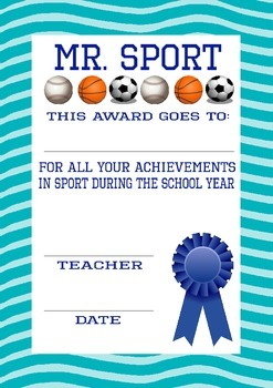 End of the Year Awards with Voting Cards