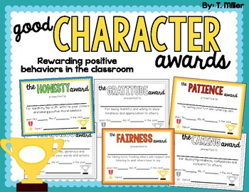 Good Character Awards