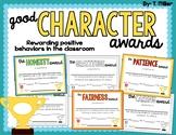 Good Character Awards