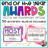 End of the Year Awards- DIGITAL and POWERPOINT Versions