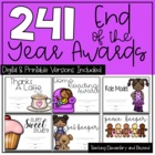 Superlatives and End of the Year Awards {182 Editable & Non-Editable Awards}