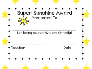 End of the Year Awards - NOW EDITABLE! ( for student names, teacher, and date )
