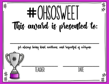 End of the Year Awards: Hashtags