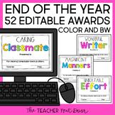 End of the Year Awards: Editable | Student Awards | Editable Awards