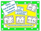 End of the Year Awards ( 30 Personable, Colorable, and Fun