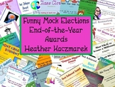 End of the Year Awards - Award Superlatives - Mock Elections