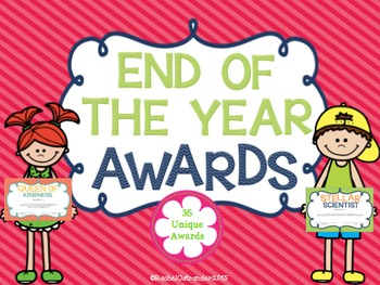 End of the Year Awards - 35 Unique Awards