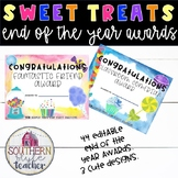 End of the Year Awards Sweet Treats Theme