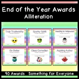 End of the Year Awards: Alliteration Edition