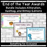 End of the Year Awards: Alliteration, Hashtag, and Bitmoji Bundle