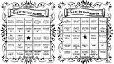 End of the Year Awards BINGO (social skills, fluency, articulation, language)