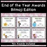 End of the Year Awards: Bitmoji Edition
