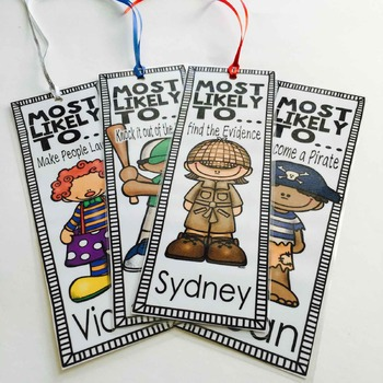 End of the Year Award Bookmarks