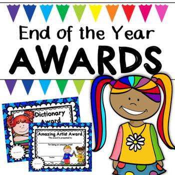 End of the Year Awards Bundle