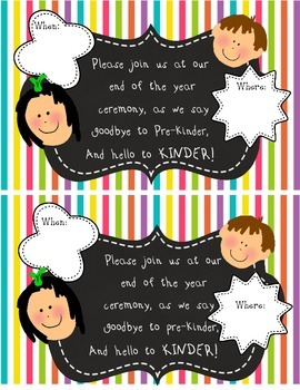 End of the Year Awards Ceremony Invitation