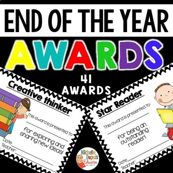 End of the Year Awards -  Certificates