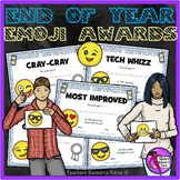 End of the Year EMOJI Awards for teens