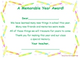 End of the Year Awards/Certificates-Google Slides™