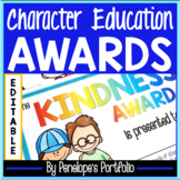 Character Education - End of the Year Awards