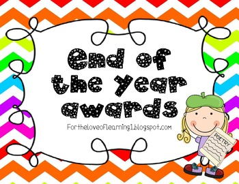 End of the Year Awards (Chevron!)