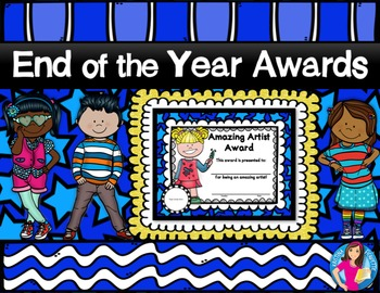 End of the Year Awards (Color Version)