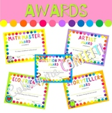 End of the Year Awards - Colour me Confetti